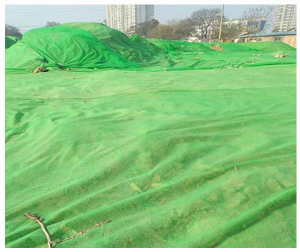 无纺布土工布-优质土工覆盖防尘网厂家直供-环保检查 拒绝扬尘