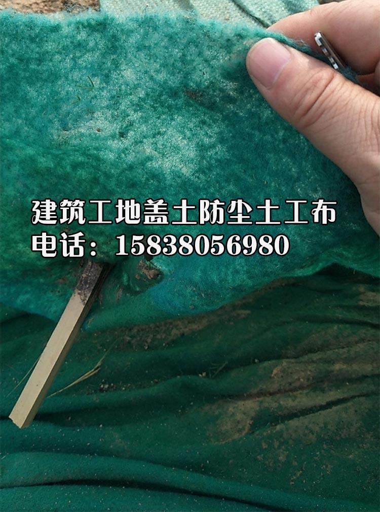 工地绿化专用盖土无纺布 可使用时间长